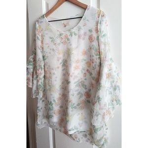 Guisy Tops - Guisy Made In Italy Silk Blouse!